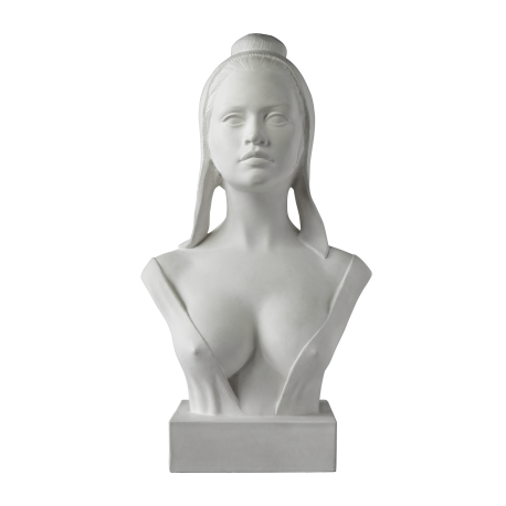 Buste de Marianne 65 cm - Modèle Brigitte BARDOT