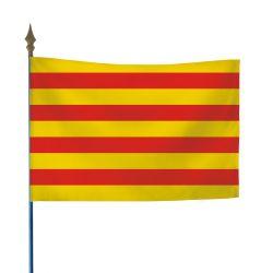 Drapeau province Catalan 20x30 cm