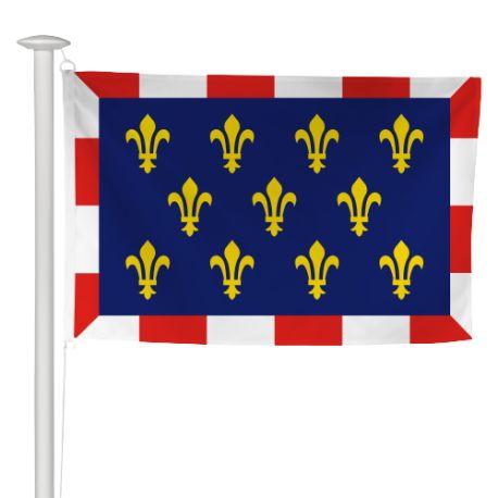 Pavillon province Touraine 50x75 cm
