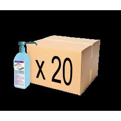 Carton de 20 flacons de Gel hydroalcoolique 500 ml