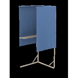 Isoloir rideau périphérique M1 - Case départ