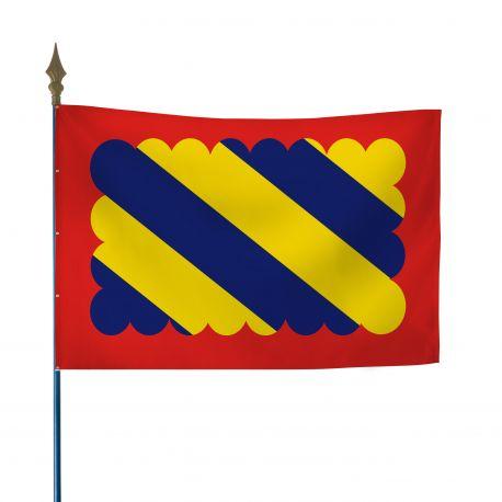 Drapeau province Nivernais 60x90 cm