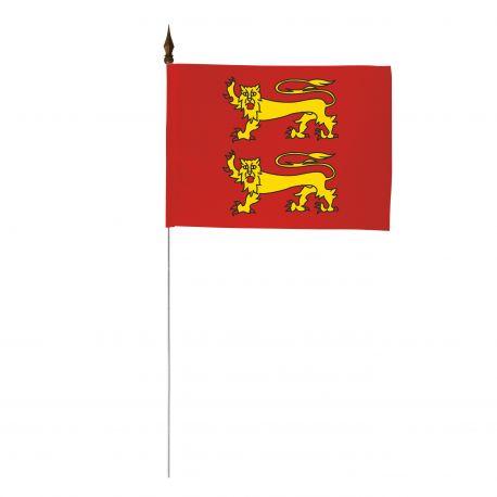 Drapeau de table province Normandie 10 x 15 cm - A l'unité