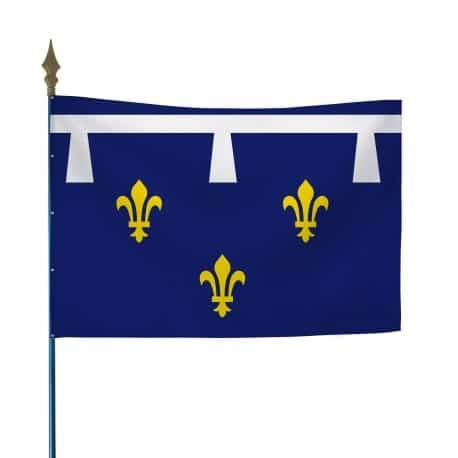 Drapeau province Orléanais 80x120 cm