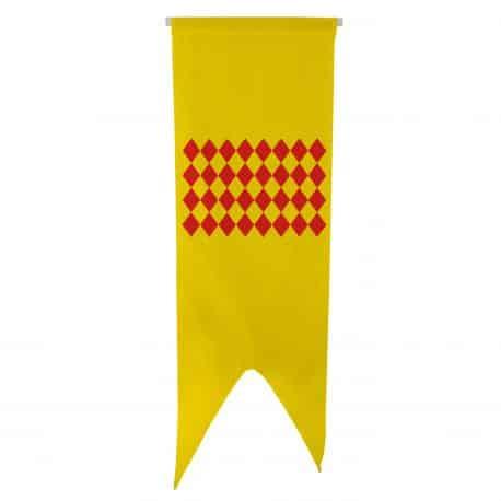 Oriflamme province Angoumois 50x150 cm