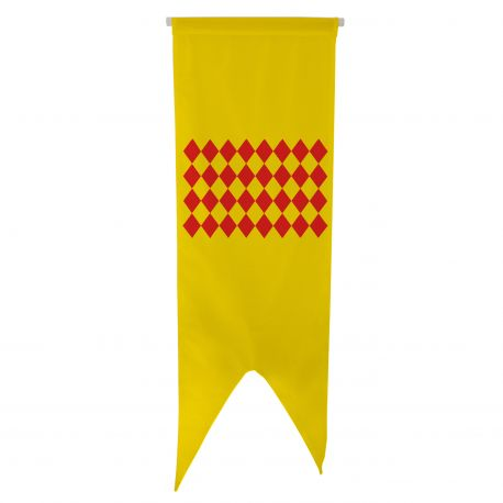 Oriflamme province Angoumois 80x300 cm