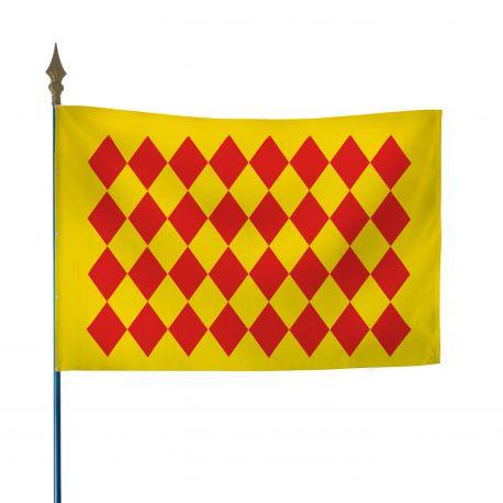 Drapeau province Angoumois 100x150 cm