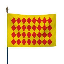 Drapeau province Angoumois 20X30 cm