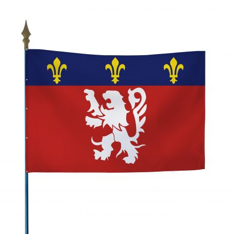 Drapeau province Lyonnais 60x90 cm