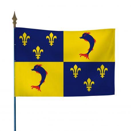 Drapeau province Dauphiné 50x75 cm