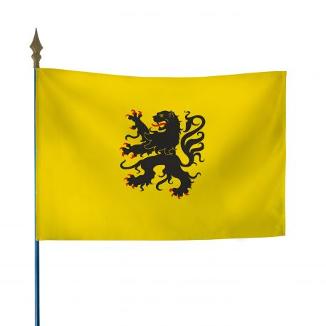Drapeau province Flandres 100x150 cm