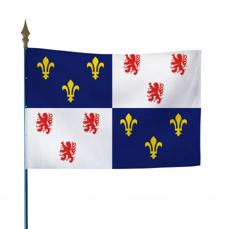 Drapeau province Picardie 40x60 cm