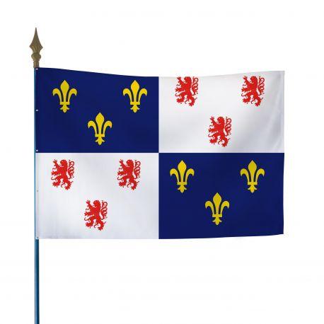 Drapeau province Picardie 80x120 cm