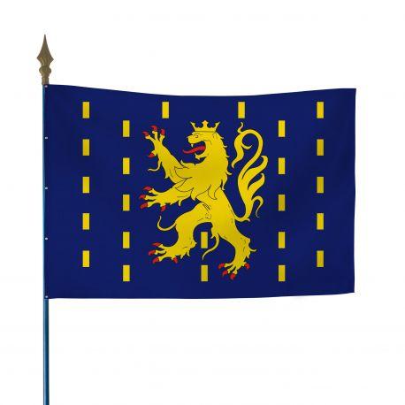 Drapeau province Franche-Comté 50x75 cm