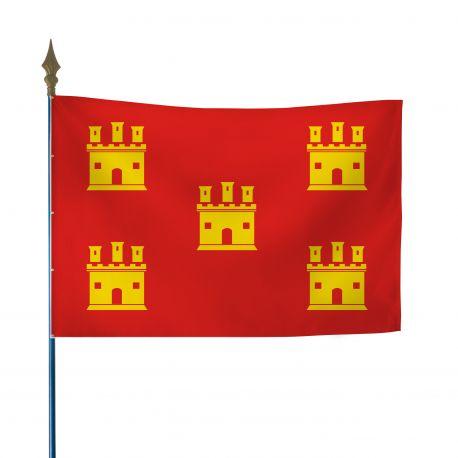 Drapeau province Poitou 50x75 cm
