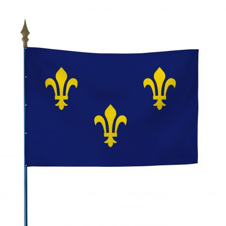 Drapeau province Ile-de-France 80x120 cm