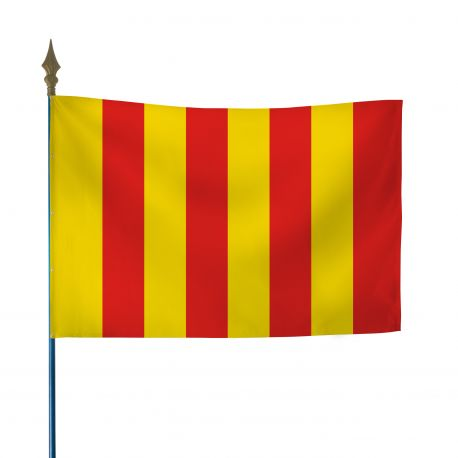 Drapeau province Roussillon 100x150 cm