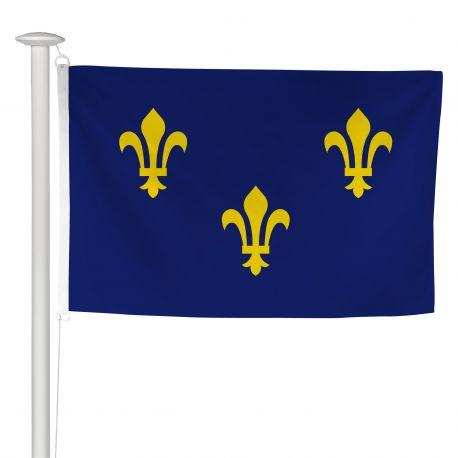 Pavillon province Ile de France 60x90 cm