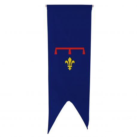Oriflamme province Provence Armes 80x300 cm