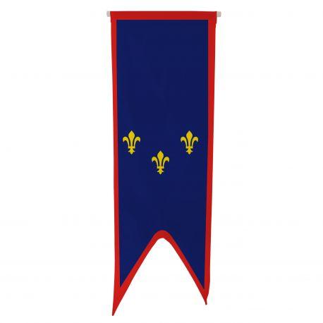 Oriflamme province Anjou 80x300 cm