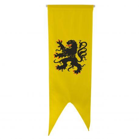 Oriflamme province Flandres80x300 cm