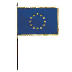 Drapeau de protocole en DECOTEX Union Européenne