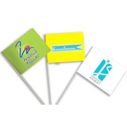 Drapeaux personnalisés à agiter en papier