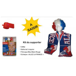Kit du Supporter de Football - FRANCE