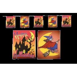 Guirlande Halloween 15 fanions