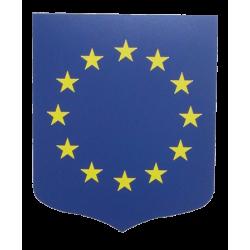 Ecusson porte-drapeaux 40x50 cm - Union Européenne