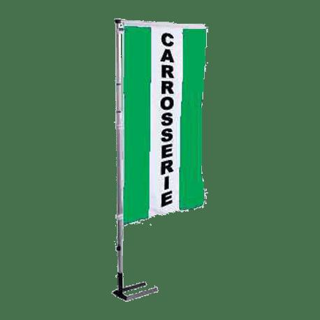 Pavillon vertical Carrosserie avec bandes - Vert