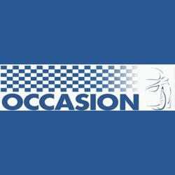 Banderole Occasion 80 x 300 cm en bâche PVC - Bleu