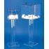 Pied colonne pour urne en polycarbonate
