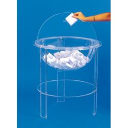 Urne jeux concours en plexiglass