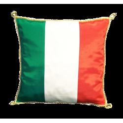 Coussin Italie 30 x 30 cm avec cordelière or