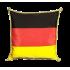Coussin Allemagne 30 x 30 cm avec cordelière or