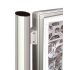 Poteau Quatro de liaison - Vitrines H.750 et 1000