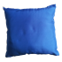 Coussin 30 x 30 cm en Satin Bleu