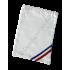 Housse en satin blanc pour écharpes
