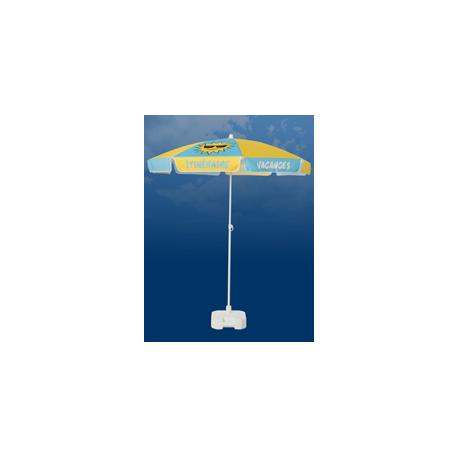 Parasol publicitaire Rond diamètre 200 cm