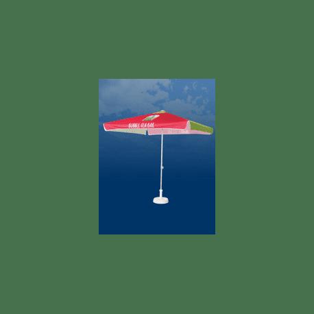 Parasol publicitaire Carré 200x200 cm
