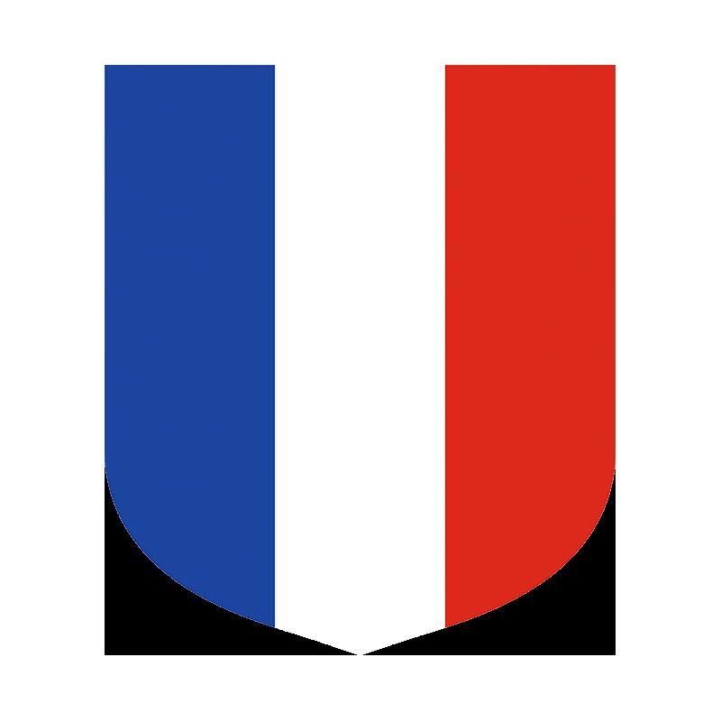 Ecusson porte drapeaux tricolore for Porte drapeaux