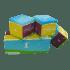 Pouf cube 45 cm
