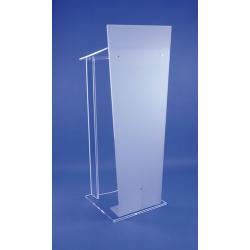 Pupitre colonne en plexiglass