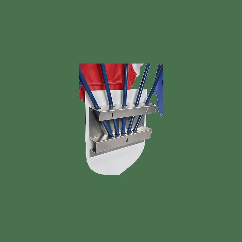 Ecusson porte drapeaux libert egalit fraternit for Porte drapeaux