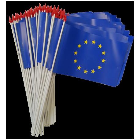 Drapeaux 9.5x16 Europe à agiter