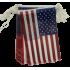 Guirlande USA en plastique 10 m