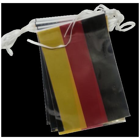 Guirlande Allemagne en plastique 5 m