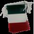 Guirlande Italie en plastique 10 m