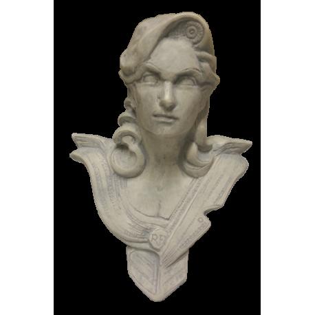Buste de bureau - Modèle CHAVANON 18 cm - Gris Antique